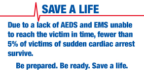 SCA AEDs